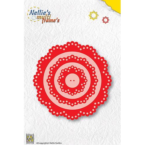 Nellie's Choice Multi Frame Die-Corners, 2/Pkg