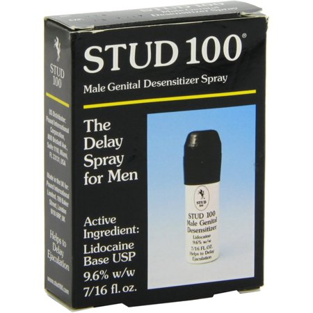 Stud 100 Male Genital Desensitizer Spray 0.44 oz (Pack of (Female To Male Genital Surgery Before And After)
