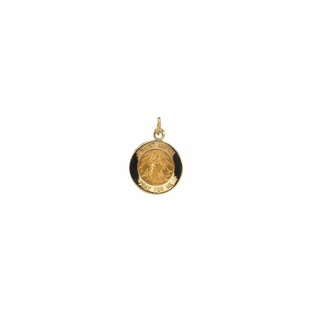 14kt Yellow 12mm St. Martha Medal R16324 / 14Kt Yellow / 12.00 Mm / Polished / St. Martha (Martha Medal)