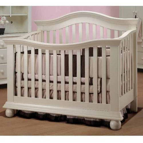Sorelle Vista Couture 4-in-1 Convertible Crib French White