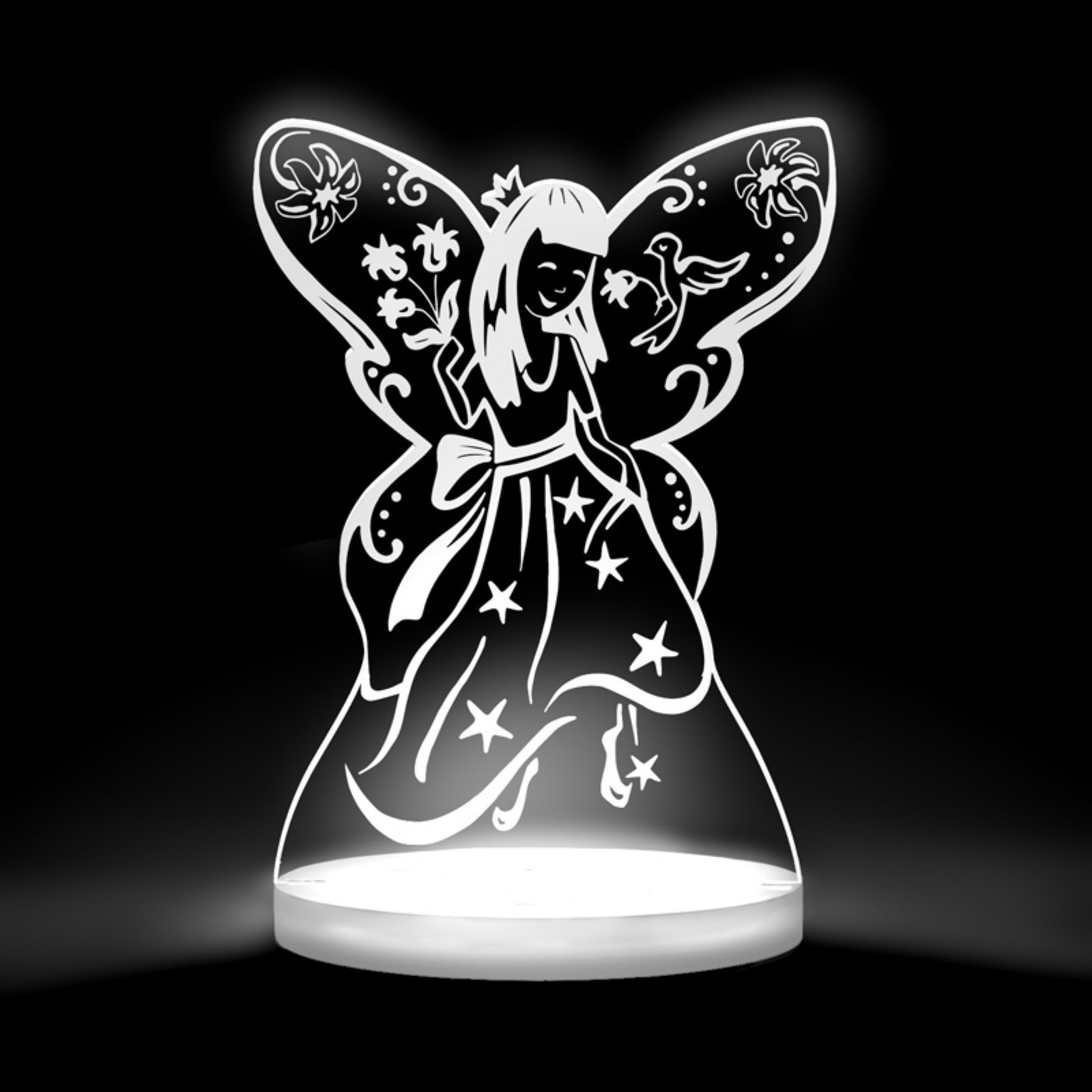 Total Dreamz Fairy Princess Multicolored LED Night Light