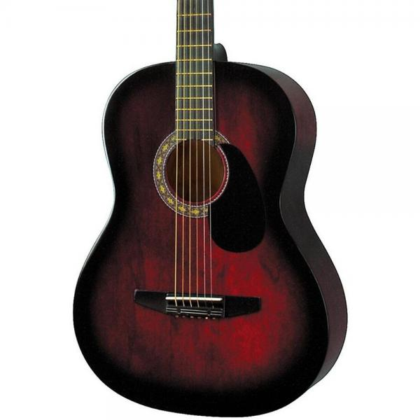 Rogue Starter Acoustic Guitar Red Burst by Rogue