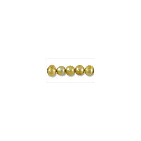 Freshwater Potato Pearl Muted Gold 4-5mm (16
