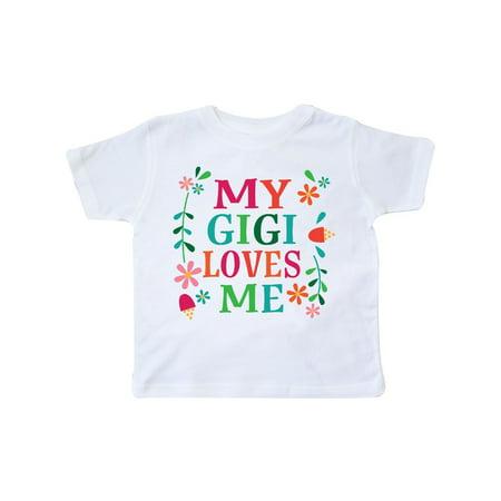 My Gigi Loves Me Girls Gift Apparel Toddler T-Shirt - Girls Apparel