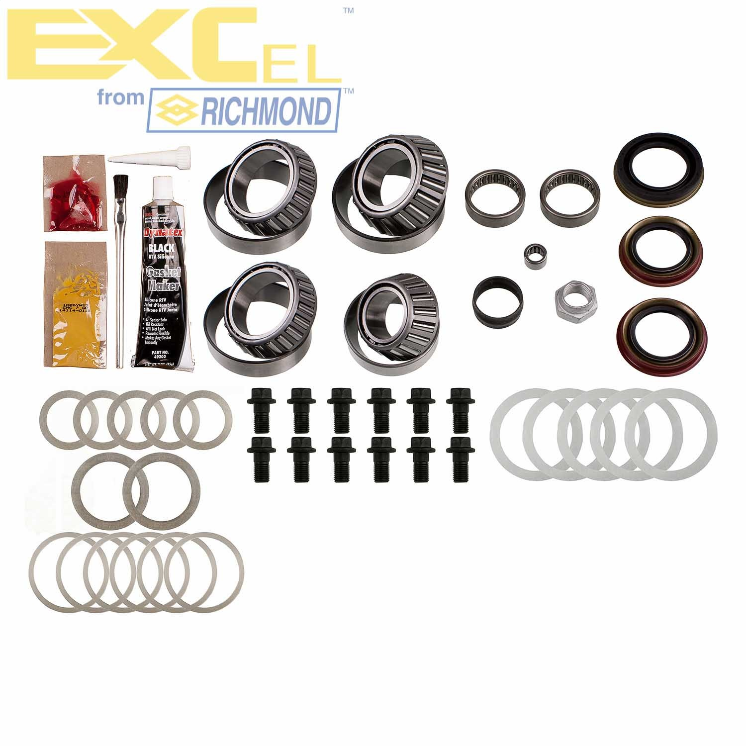 EXCEL from Richmond XL-2005-1 Differential Bearing Kit