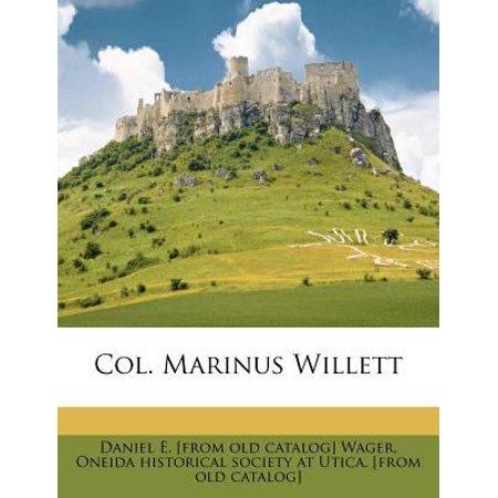 Col  Marinus Willett