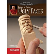 Ugly Faces Study Stick Kit(learn to Carve Faces with Harold Enlow): Learn to Carve Ugly Faces Booklet & Ugly Faces Study Stick (Paperback)