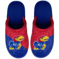 Kansas Jayhawks Youth Big Logo Scuff Slippers