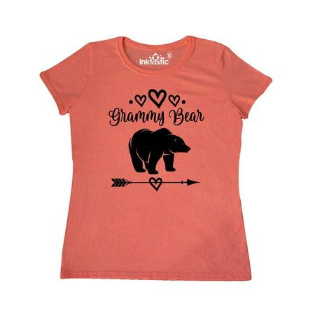 9d25dc92 Inktastic - Grammy Bear Grandma Gift Women's T-Shirt - Walmart.com