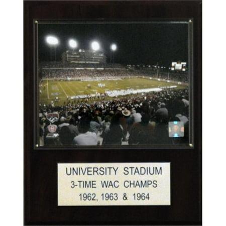 C & I Collectables 1215UNIVFIELD NCAA Football University Stadium Stadium Plaque - image 1 of 1