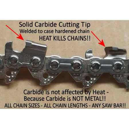 Solid Carbide Tip Chainsaw Chain 501846572 for 20