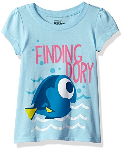 Disney Toddler Girls' Finding Dory T-Shirt, Light Blue, 5T