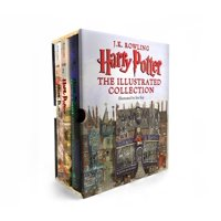 Harry Potter : The Illustrated Collection 1-3 Books Boxed Set (Hard Cover)