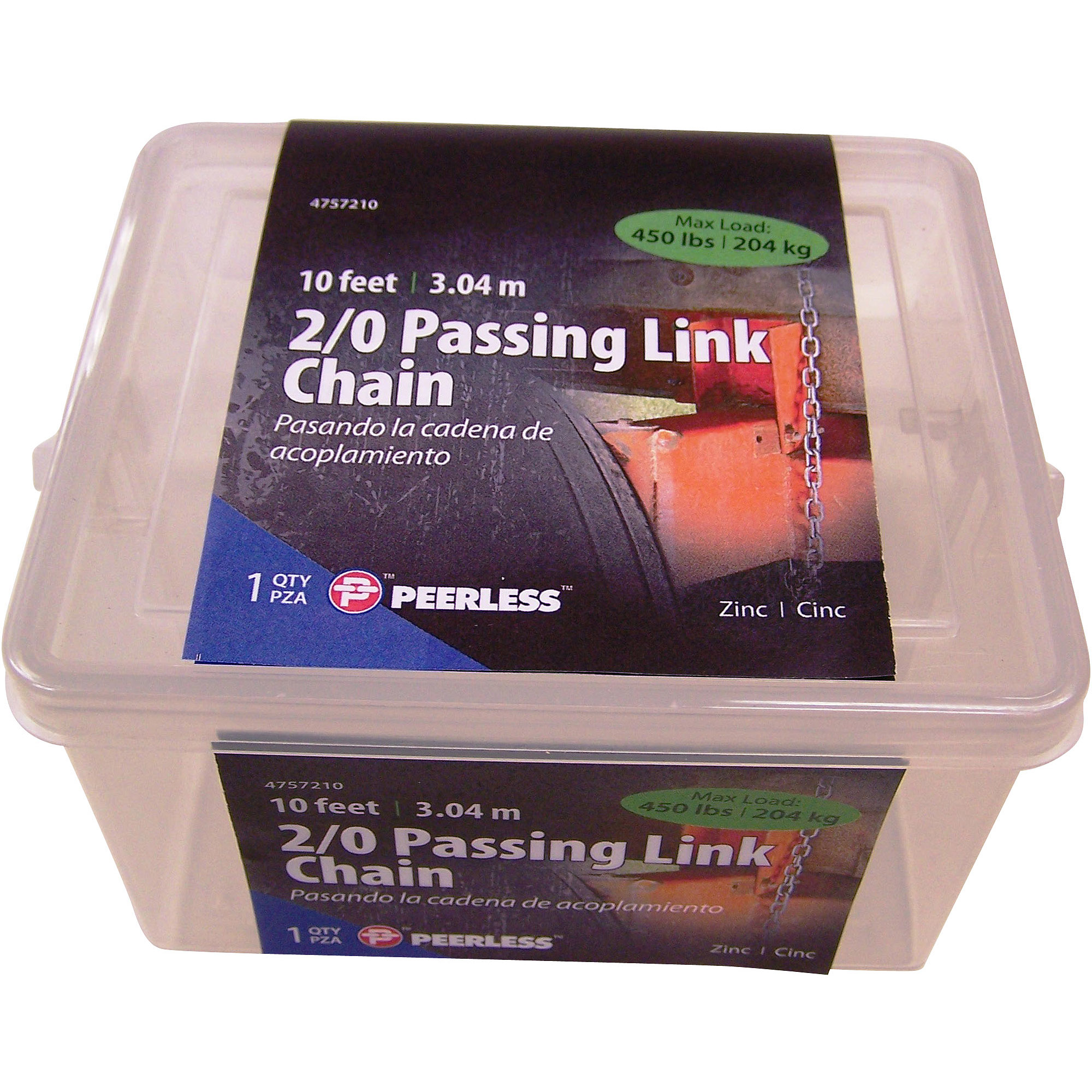 Peerless 2 0 Passing Link Chain, 10' by Peerless Chain Company