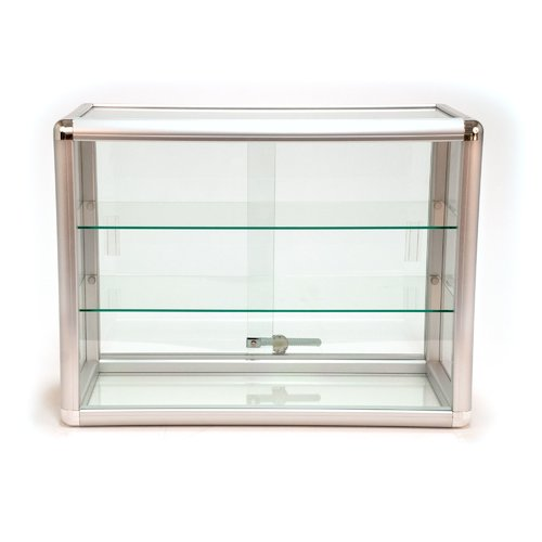 KC Store Fixtures Rectangular Countertop Showcase