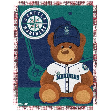 Seattle Mariners The Northwest Company 36'' x 46'' Baby Jaquard Throw - No