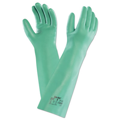 ANSELL Sol-Vex Nitrile Gloves, Size 9, Sold as 1 Carton, ...