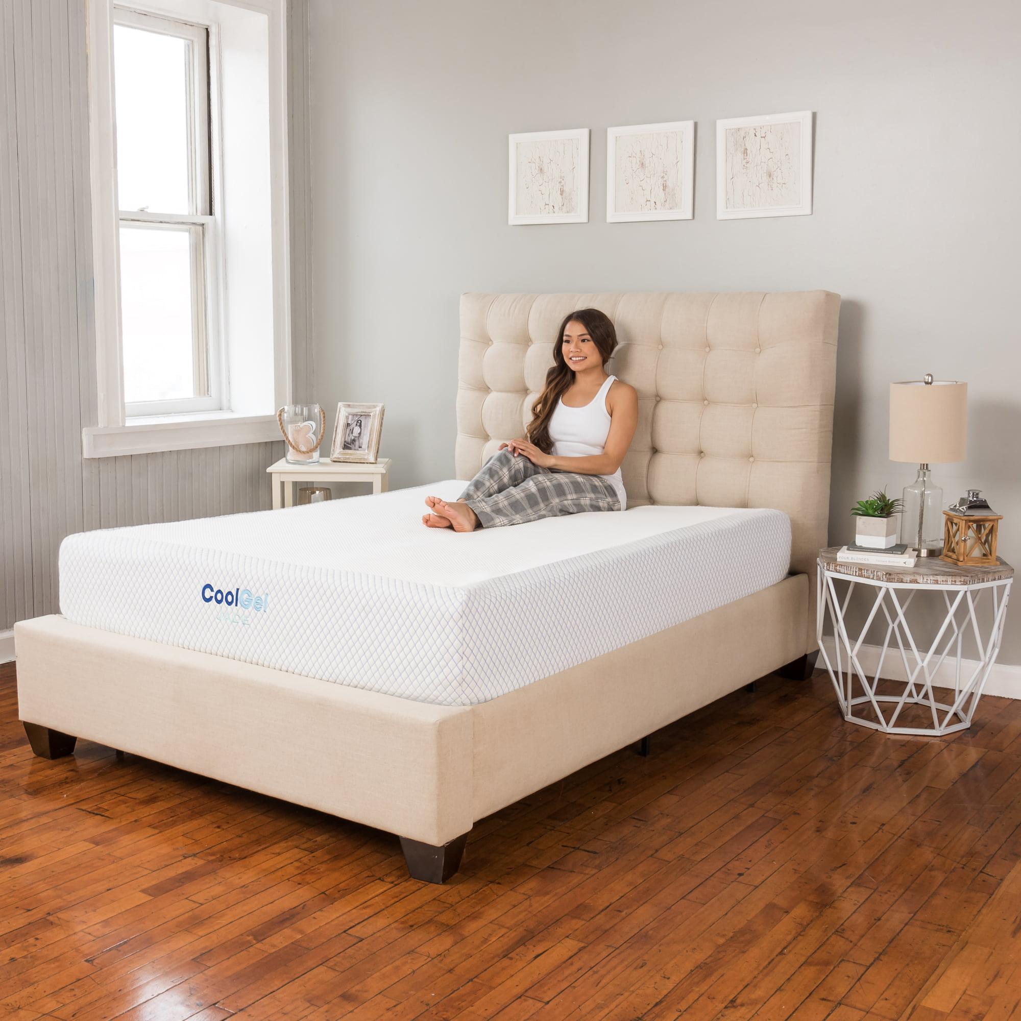 Modern Sleep Cool Gel Jade Latex and Memory Foam Mattress - Walmart.com