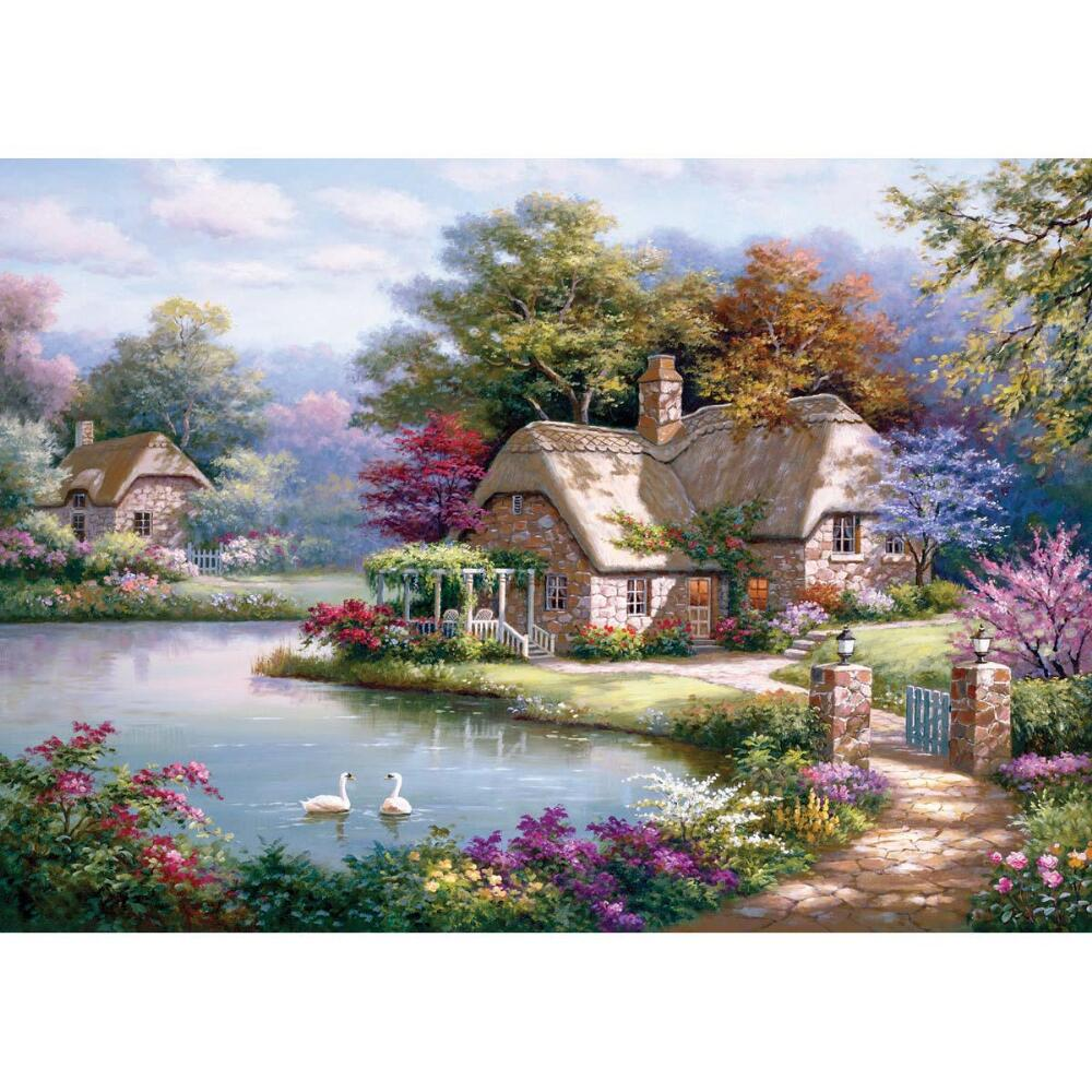 Perre The Swan Cottage Jigsaw Puzzle