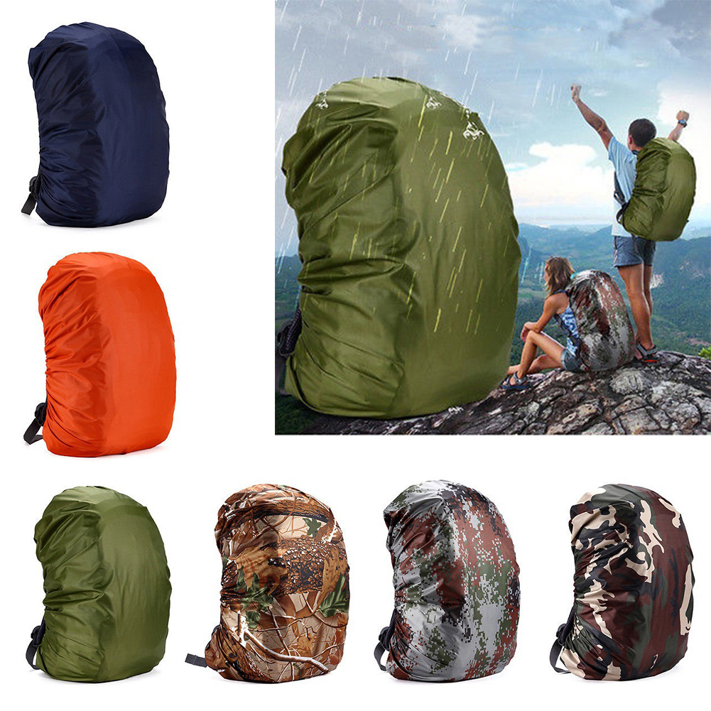 Girl12Queen Outdoor Sports 35-80L Portable Waterproof Backpack Bag Rain Cover for Travel Bag
