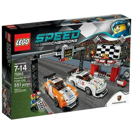 Speed Champions Porsche 911 Gt Finish Line Set Lego 75912