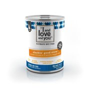 """""""I and love and you"""", Cluckin' Good Stew Grain Free Canned Dog Food, 13 oz (12 pack)"""