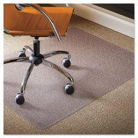 ES Robbins Natural Origins 46 x 60 Chair Mat for Low Pile Carpet, Rectangular