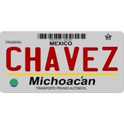 Mexico Michoacan Photo License Plate  Free Personalization on this plate
