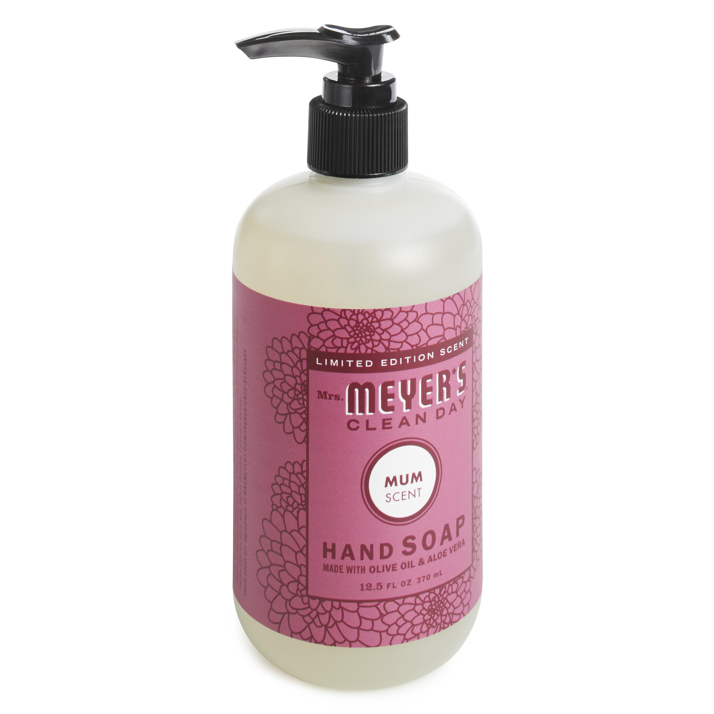 Mrs. Meyer´s Clean Day Hand Soap, Mum, 12.5 fl oz - Walmart.com