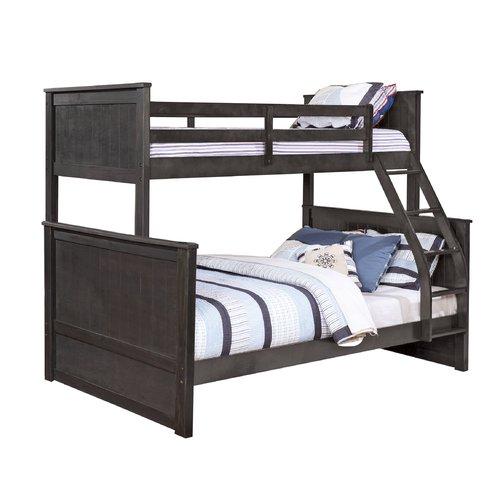 Harriet Bee Watkins Twin Over Full Bunk Bed