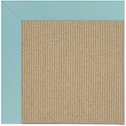 Capel Rugs Zoe Machine Tufted Seafaring Blue/Brown Area Rug