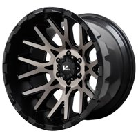 "20"" Inch Verde VR10 Recoil 20x12 8x170 -44mm Black/Machined Wheel Rim"