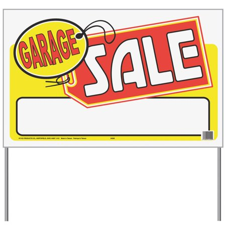 Hyko Prod. 26x16 Garage Sale Sign 24202