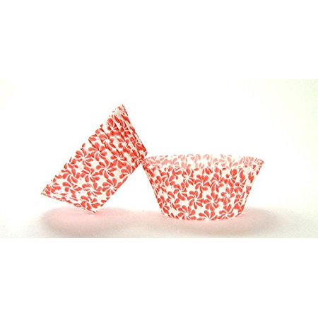 Pinwheel Design (50pc Pinwheel Red Design Standard Size Cupcake Baking Cups Liners Wrappers)