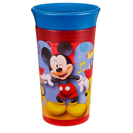 Disney Mickey Mouse Simply Spoutless Sippy Cup, 9 Oz](Mickey Mouse Plastic Cups)