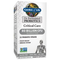 Garden of Life Dr. Formulated Critical Care Probiotics, 80 Billion CFU, 30 Ct