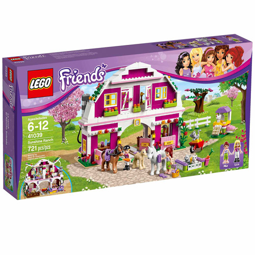 LEGO Friends Sunshine Ranch Play Set - Walmart.com