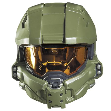 MASTER CHIEF CHILD HALF MASK](Master Cheif Helmet)