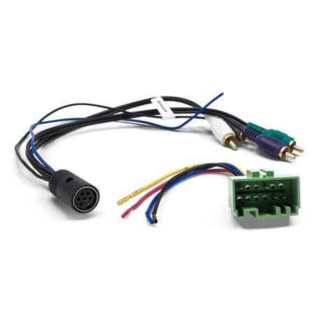Brilliant Metra 70 9223 Amplifier Bypass Wiring Harness For Select Volvo 1999 Wiring Cloud Hisonuggs Outletorg