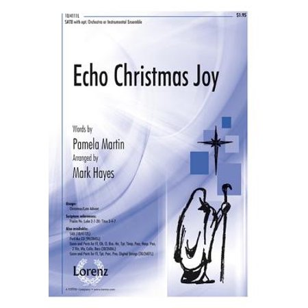 Echo Christmas Joy : SATB with Opt. Orchestra or Instrumental Ensemble (This Is Halloween Instrumental Original)
