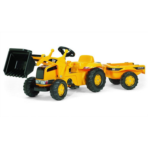 Kettler Caterpillar Kid Tractor With Tra