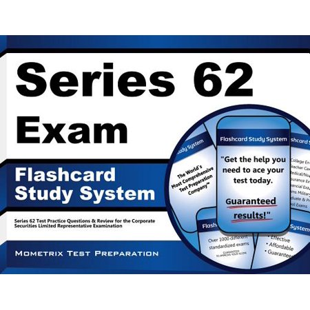 Series 62 Exam Flashcard Study System: Series 62 Test Practice Questions & Review for the Corporate Securities Limited Representative Examination Security Card Series