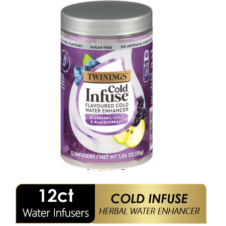 Twinings Cold Infuse Blueberry, Apple, & Blackcurrant , 12 Ct.