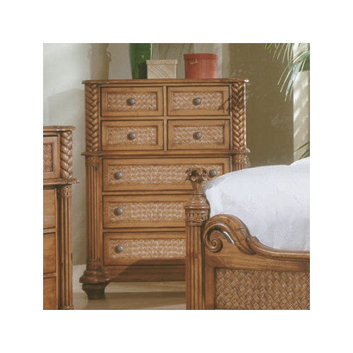 Progressive Furniture Inc. Palm Court 7 Drawer Chest