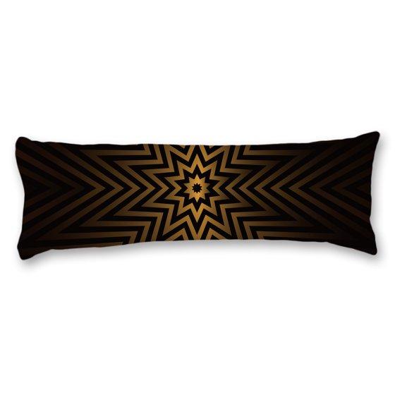Black Gold Octagon Art Deco Beautiful Post Modern 20