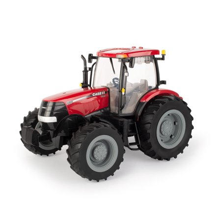 ERTL Case 1:16 Scale Big Farm 180 Toy Tractor, Plastic Toy Vehicle With Lights and