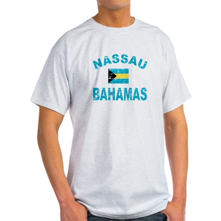 CafePress - Nassau Bahamas Designs - Light T-Shirt - (Nassau Natural)