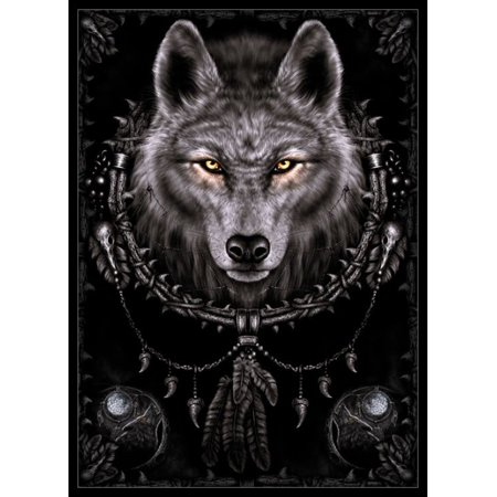 Spiral - Wolf Dreams Poster Poster Print