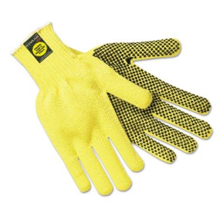 MCR 127-9366L Kevlar Gloves, Large, Coated String Knit-Kevlar
