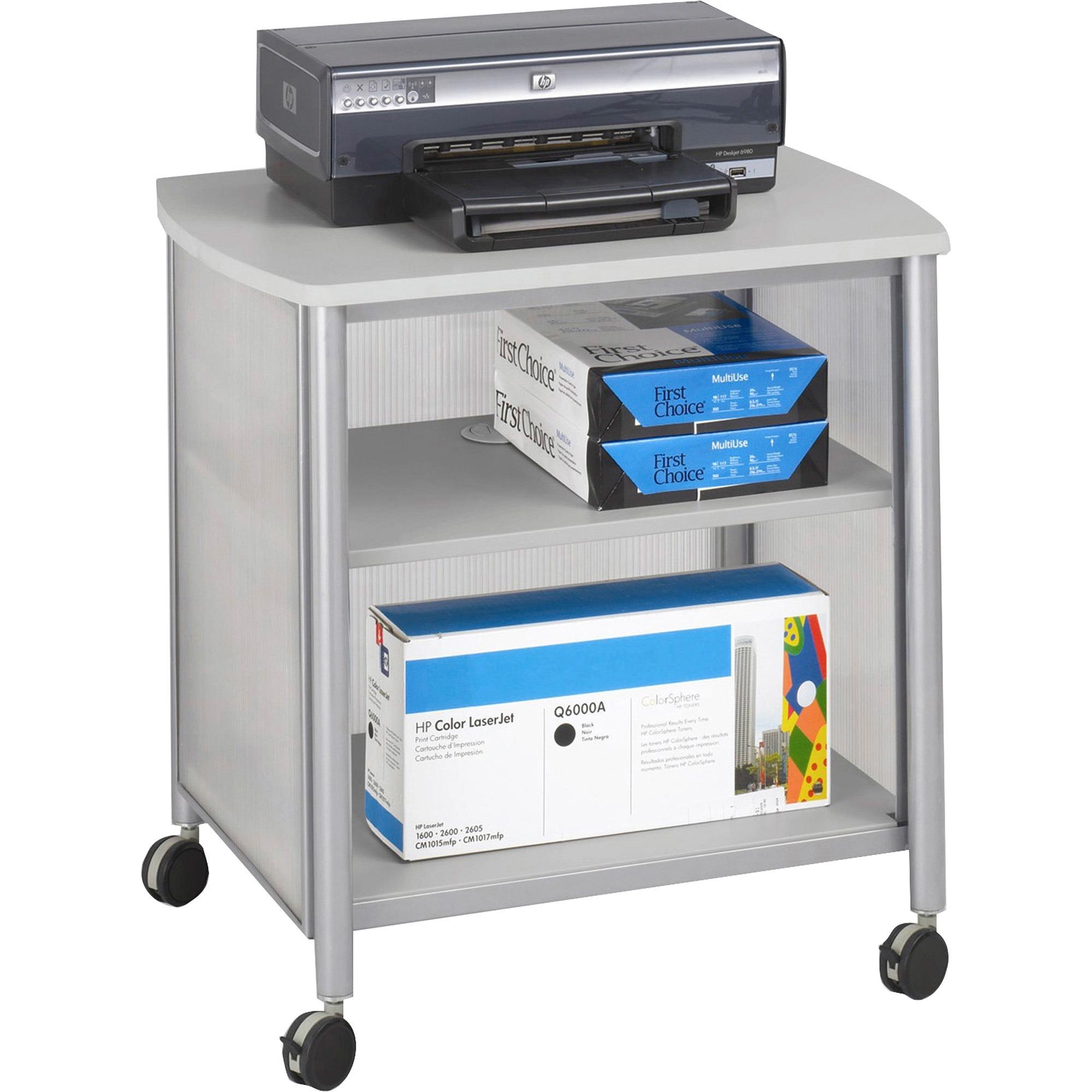 Safco, SAF1857GR, Impromptu Machine Stand, 1 / Each, Gray